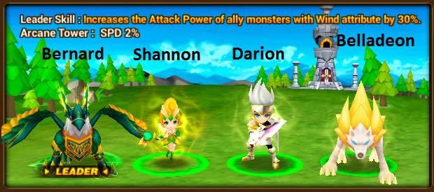 Belladeon Summoners War game